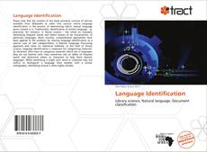 Buchcover von Language Identification
