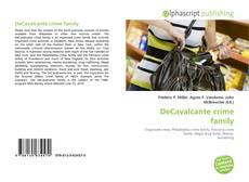 DeCavalcante crime family kitap kapağı