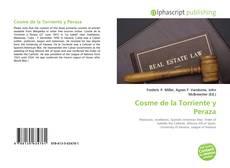 Capa do livro de Cosme de la Torriente y Peraza