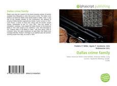Bookcover of Dallas crime family