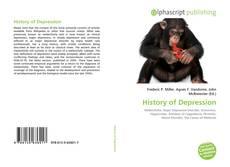 Capa do livro de History of Depression