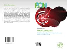 Bookcover of Pitch Correction