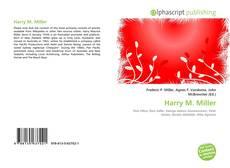 Harry M. Miller kitap kapağı