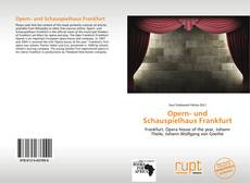 Buchcover von Opern- und Schauspielhaus Frankfurt