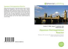 Aqueous Homogeneous Reactor kitap kapağı
