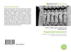 Buchcover von Organized Secularism
