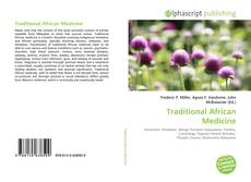 Capa do livro de Traditional African Medicine