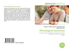 Bookcover of Phonological Awareness