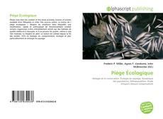 Couverture de Piège Écologique