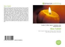 Copertina di Wax Tablet