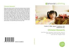 Bookcover of Chinese Desserts