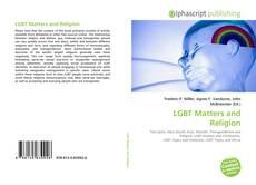 Capa do livro de LGBT Matters and Religion