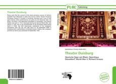 Capa do livro de Theater Duisburg