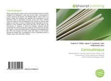 Capa do livro de Carnivalesque