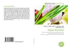 Copertina di Vegan Nutrition