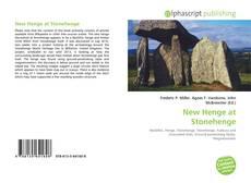 Portada del libro de New Henge at Stonehenge