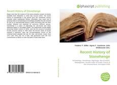 Portada del libro de Recent History of Stonehenge