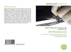 Bookcover of Phi Phenomenon
