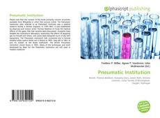 Bookcover of Pneumatic Institution