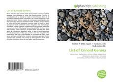 Обложка List of Crinoid Genera