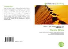Capa do livro de Climate Ethics