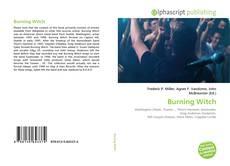 Обложка Burning Witch