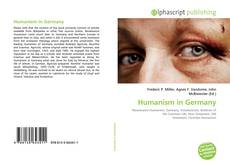Buchcover von Humanism in Germany