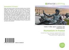 Buchcover von Humanism in France