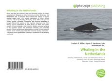 Bookcover of Whaling in the Netherlands