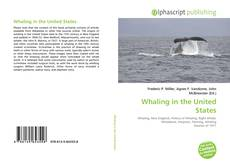 Bookcover of Whaling in the United States