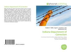 Bookcover of Indiana Department of Correction