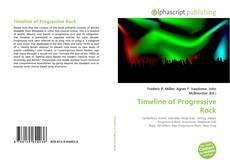 Capa do livro de Timeline of Progressive Rock