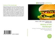 Buchcover von History of the Hamburger