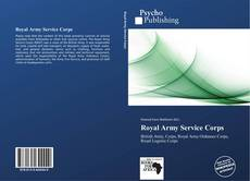 Capa do livro de Royal Army Service Corps
