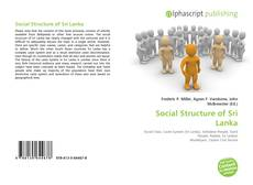 Bookcover of Social Structure of Sri Lanka