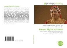 Portada del libro de Human Rights in Yemen