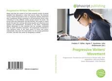 Bookcover of Progressive Writers' Movement