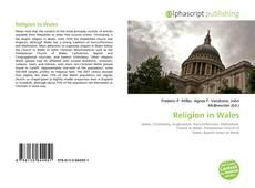Обложка Religion in Wales