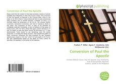 Bookcover of Conversion of Paul the Apostle