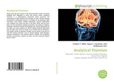 Copertina di Analytical Thomism