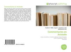 Bookcover of Commentaries on Aristotle