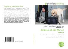 Criticism of the War on Terror的封面
