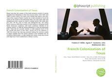 Buchcover von French Colonization of Texas