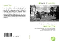 Bookcover of Scotland Yard