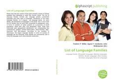 Portada del libro de List of Language Families