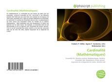 Bookcover of Cardinalité (Mathématiques)