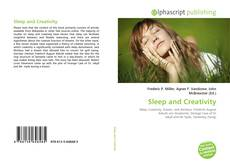 Bookcover of Sleep and Creativity