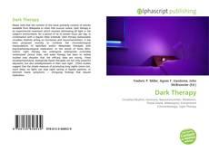 Dark Therapy的封面