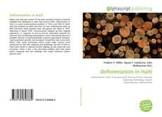 Couverture de Deforestation in Haiti