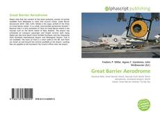 Bookcover of Great Barrier Aerodrome